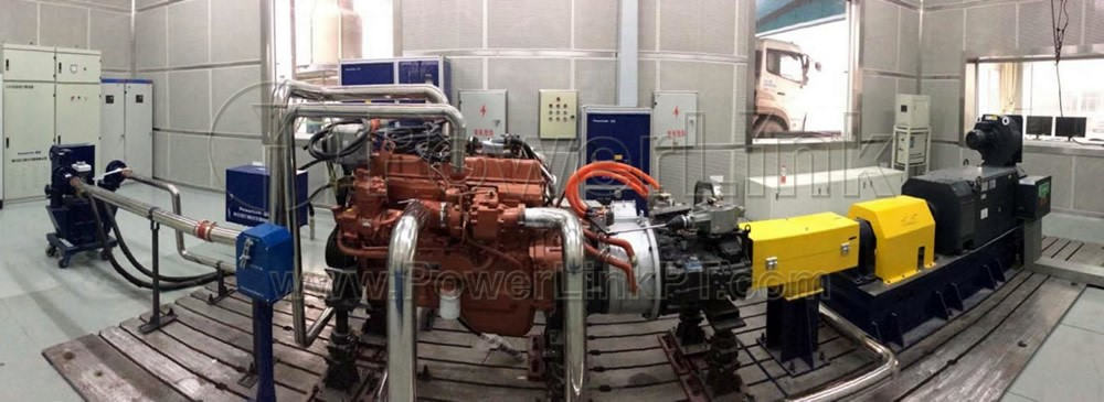 Hybrid vehicle driveline test bench